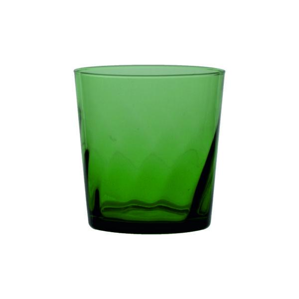 bicchiere fiesole verde torsé
