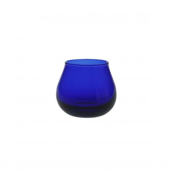 bicchiere Assaggiaolio blu cobalto