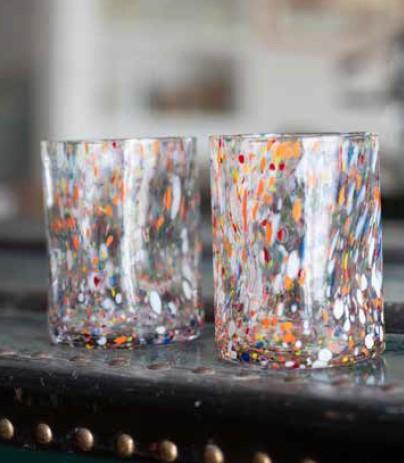 bicchiere Viareggio arlecchino