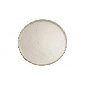 piatto geo piano 21 cm. bianco