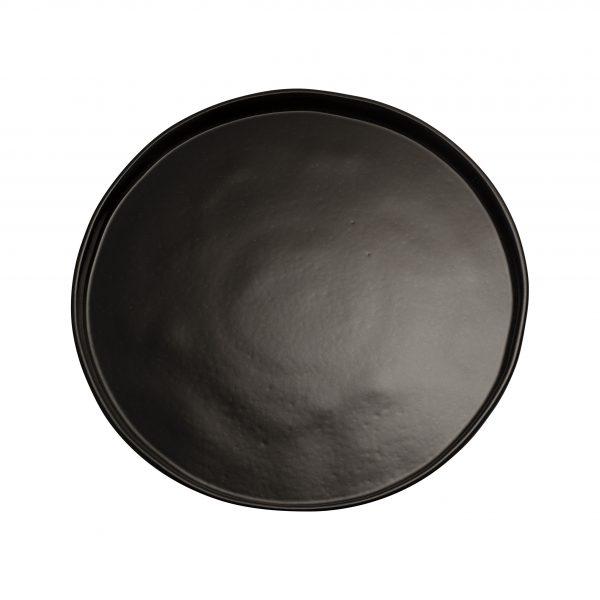 piatto geo piano nero